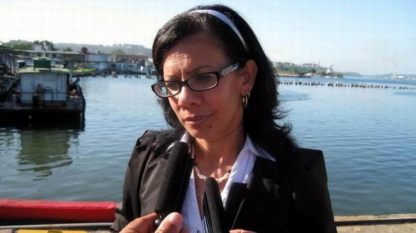 Marisol Rodríguez Correa, delegada del Ministerio del Turismo en Santiago de Cuba pronosticó que esta temporada turística se avizora como la mejor de los últimos cinco años en la provincia. Foto: Sergio Martínez