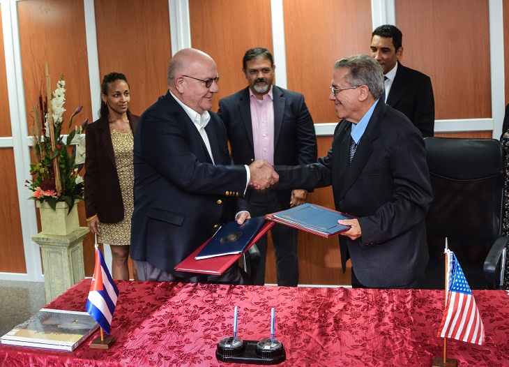 Port Authorities from Cuba and Houston Sign Memorandum of Understanding