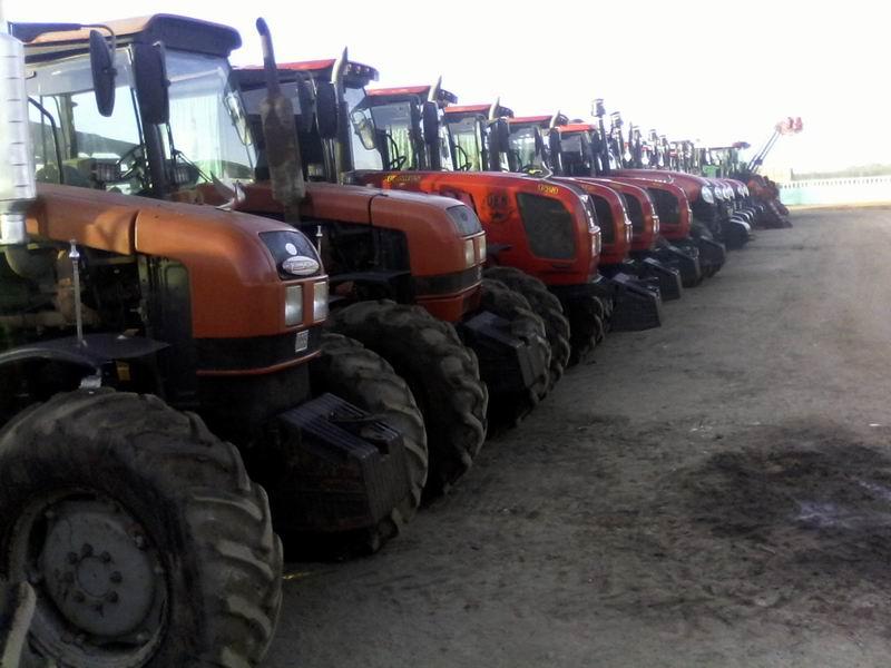 Nuevas máquinas agrícolas apoyan campaña de preparación de suelo. Foto: Elvis Gil