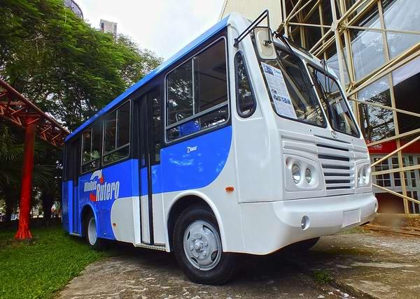 Fabricado por la Industria Nacional Cubana, Diana es un ómnibus mediano para el transporte de pasajeros. Las dimensiones de la carrocería lo ubican como una solución económica para la transportación de personas entre municipios y ciudades rurales. Foto Abel Rojas