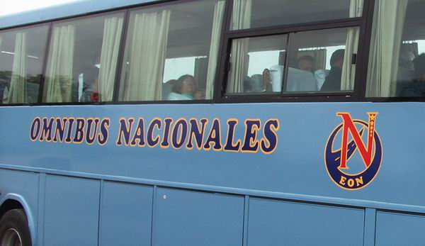 Reanudan desde este miércoles viajes de Ómnibus Nacionales
