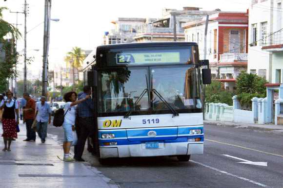 Cuban Transportation Workers Carrying Out Debates