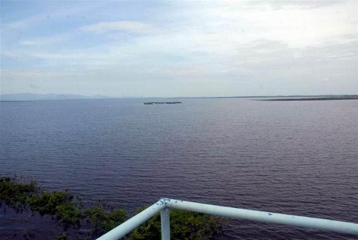 Lluvias asociadas a Irma incrementan volumen de la presa Zaza. Foto: Vicente Brito