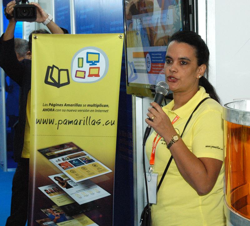 Lanza Páginas Amarillas nueva versión para Internet en FIHAV 2017