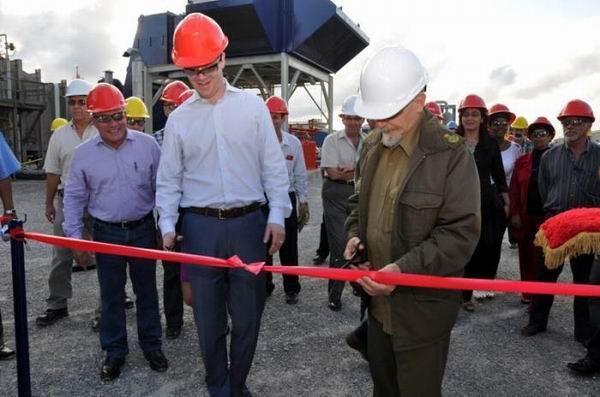 Inaugura Ramiro Vald�s nuevas inversiones en energ�s