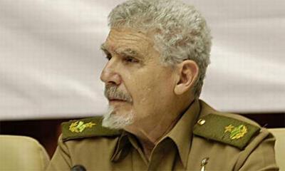 Cuban Commander Ramiro Valdes Presents Book on Mining in Cuba