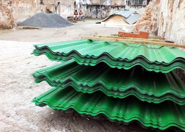 Producción y venta de materiales de construcción. Foto: Abel Rojas Barallobre