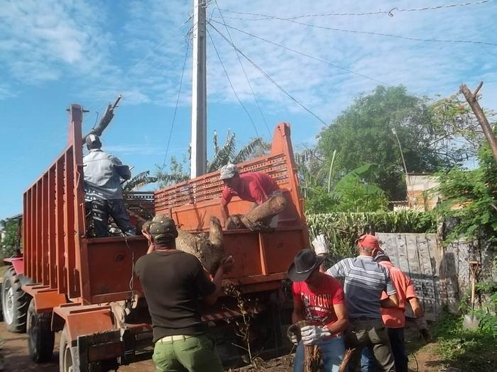 Avanza saneamiento ambiental en Las Tunas