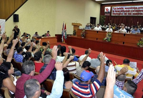 Destaca Machado Ventura Unidad del campesinado cubano (+Audio)