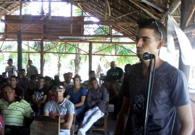 Activos j�venes campesinos de Mayabeque
