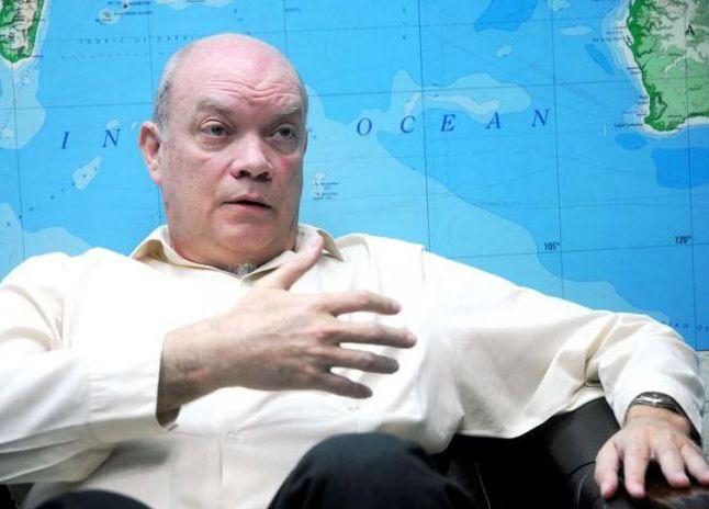 Intervención del Ministro del Comercio Exterior y la Inversión Extranjera de Cuba, Rodrigo Malmierca Díaz, en la II Cumbre Empresarial de Las Américas. Foto Pensando Américas