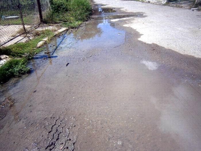 Acueducto, por resolver salideros de agua potable. Foto: Mireya Ojeda