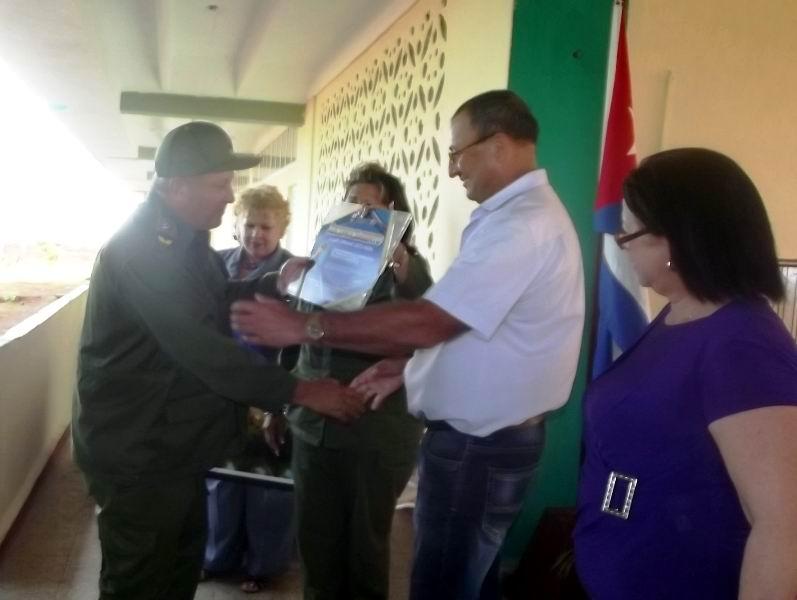 Luis Sisto Mora designado Vicepresidente para el Consejo de la Administración recibe reconocimiento por su desempeño como Vicepresidente del CAP