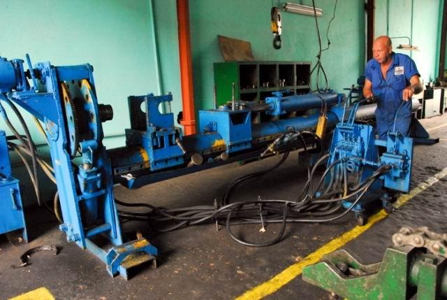 Planta de Soluciones Mecánicas de  la Construcción, conocida como SOMEC