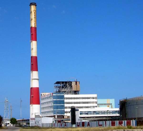 La central termoeléctrica Antonio Guiteras