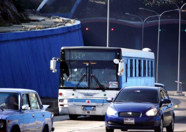 Vuelven los ómnibus urbanos a la capital