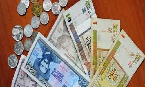 Nota informativa del Banco Central de Cuba