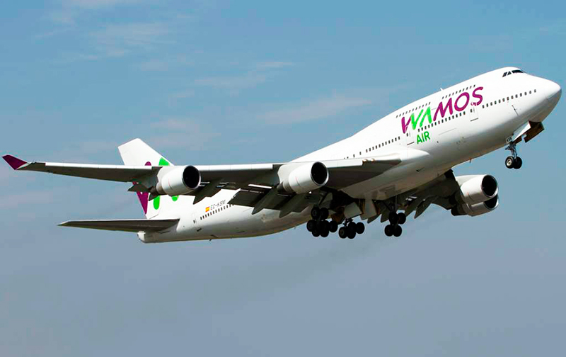 Wamos Air to Fly from Spain to Cuba