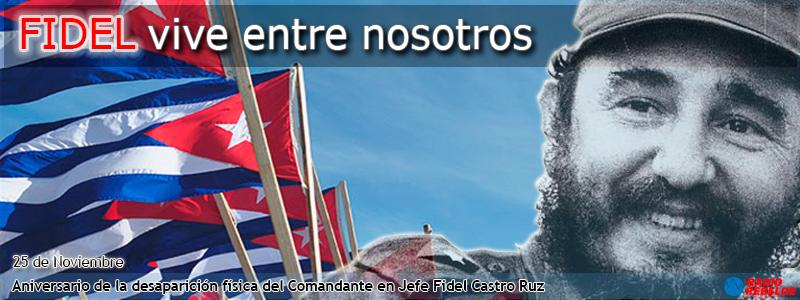 Primer Aniversario de la desaparición física del Comandante en Jefe Fidel Castro Ruz