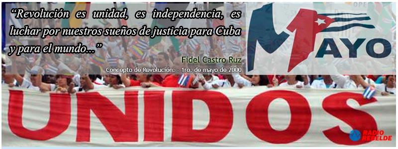 Concepto de Revolución. Fidel Castro Ruz 1 de mayo de 2000