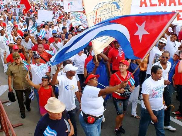 Compromiso de los cubanos de preservar sus derechos humanos. Foto: Abel Rojas Barallobre.