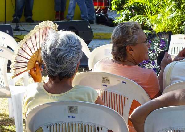 El abanico ofrece una amplia variedad de usos. Foto Abel Rojas