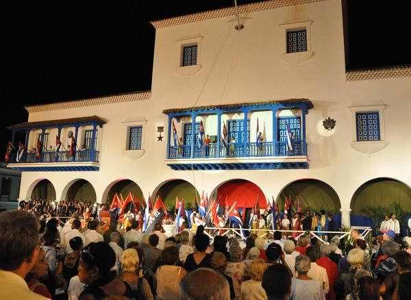 55 aniversario del triunfo de la Revoluci�n Cubana en Santiago de Cuba, el 1ro de enero de 2014. Foto Marcelino V�zquez