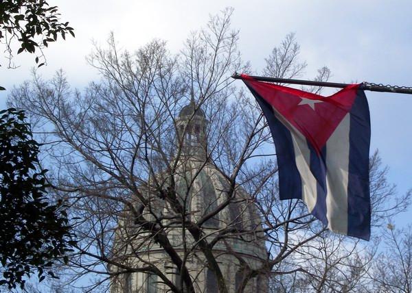 La Bandera de la Estrella Solitaria representa nuestra dignidad y decoro por la amistad y la solidaridad.. Foto Abel Rojas Barallobre