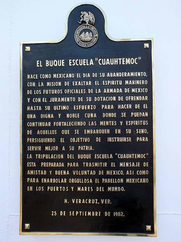 Historia del buque escuela Cauhtémoc de la Armada Mexicana. Foto Abel Rojas