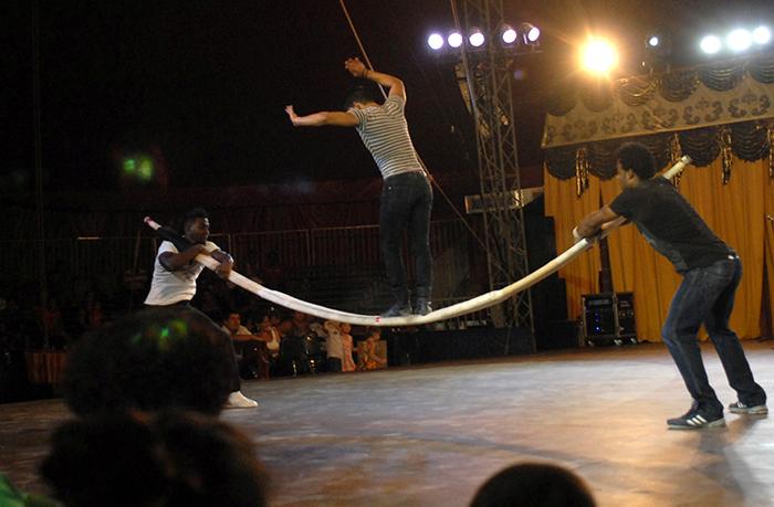 Las mágicas actuaciones del Circo Nacional de Cuba (+Fotos)