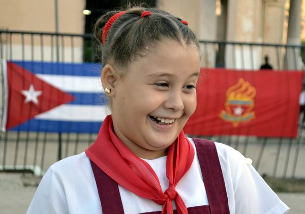 Este primero de septiembre es, indudablemente, un día feliz para Cuba. Foto Abel Rojas Barallobre