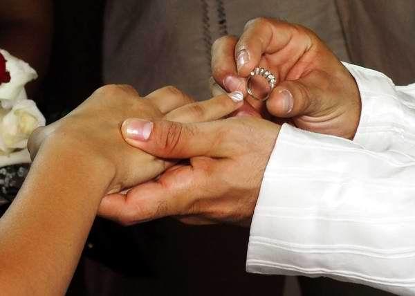 Tarifas actuales para formalizar los matrimonios