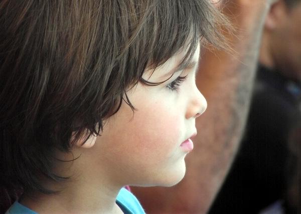 Los niños son y serán siempre considerados los seres más sinceros y tiernos. Foto Abel Rojas Barallobre