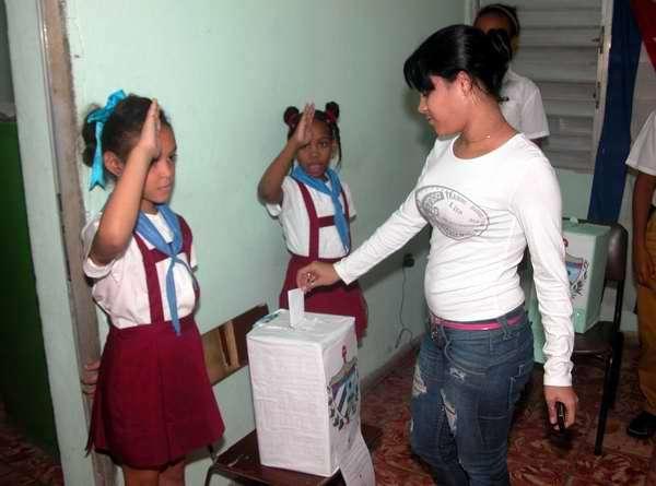 Apoyo contundente de los pobladores de Céspedes a comicios generales en Cuba