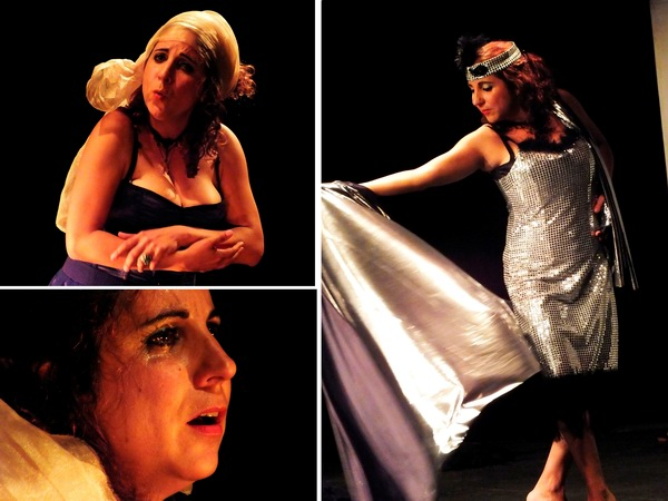 Bel la Bella, pieza teatral interpretada magistralmente por la actriz y cineasta cubana Ana Victoria Pérez. Fotos Abel Rojas