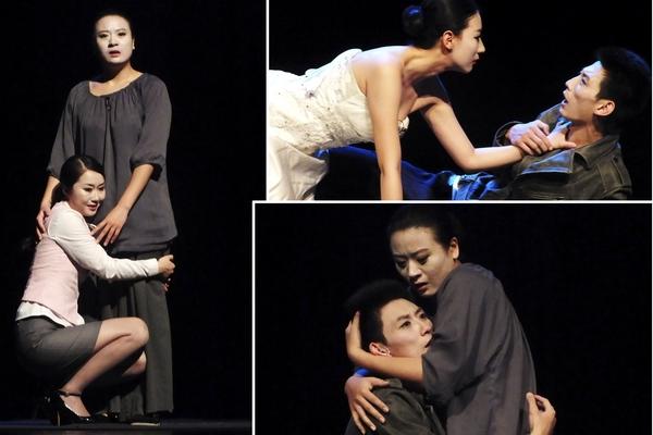 La obra Thunderstorm (La Tempestad), interpretada por los actores del Teatro de Arte Popular de Fujian; única representación asiática que es partícipe en el Festival Internacional de Teatro de La Habana. Fotos Abel Rojas
