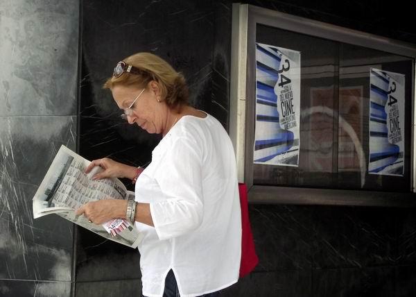34 edición del Festival del Nuevo Cine Latinoamericano acapara la atención de los cinéfilos cubanos. Foto Abel Rojas