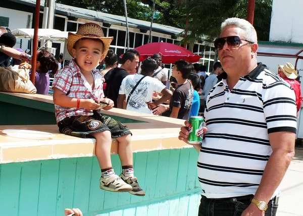El p�blico en general disfrut� de las jornadas de la Feria Internacional Agropecuaria 2013. Foto Abel Rojas