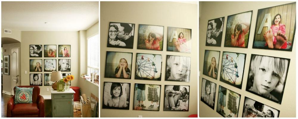 Formas novedosas para colgar tus cuadros fotos - Para colgar cuadros ...
