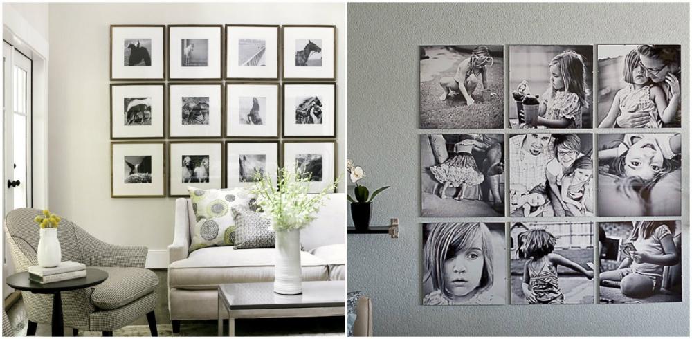 Formas novedosas para colgar tus cuadros (+Fotos)