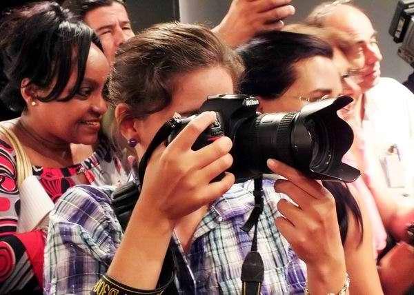 En el mundo existen millones de personas amantes del increíble mundo de las imágenes. Foto Abel Rojas