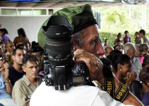 La fotografía constituye un medio de comunicación muy complejo. Foto Abel Rojas