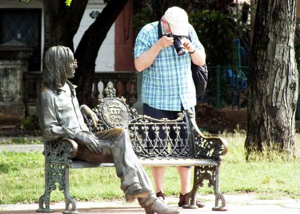 El lente nos permite plasmar escenas que nos cautivaron. Foto Abel Rojas