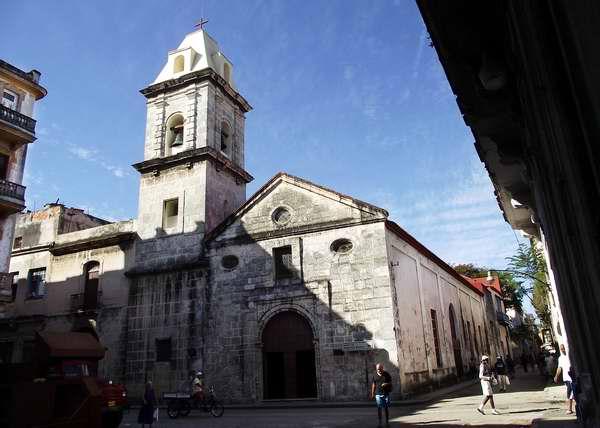 Iglesia del Espíritu Santo (Siglo XVII): ubicada en la calle Cuba, entre Acosta y Jesús María. Se considera uno de los templos más antiguos de La Habana.  Foto Abel Rojas