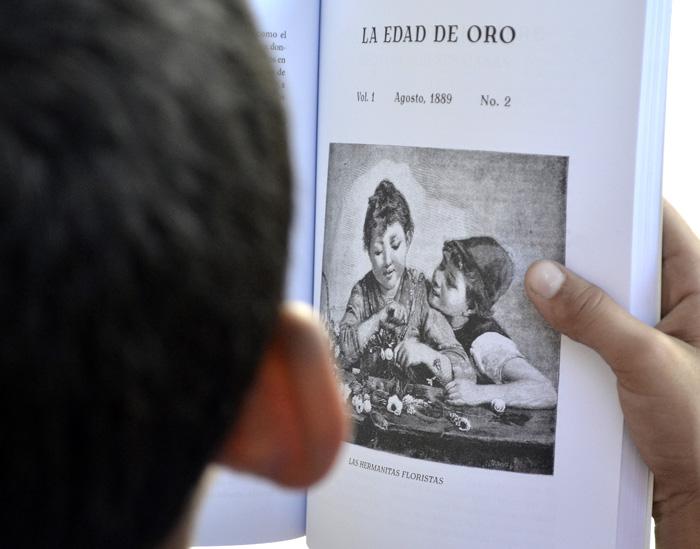 Es necesario propiciar a edades tempranas el disfrute de la lectura. Foto: Abel Rojas Barallobre