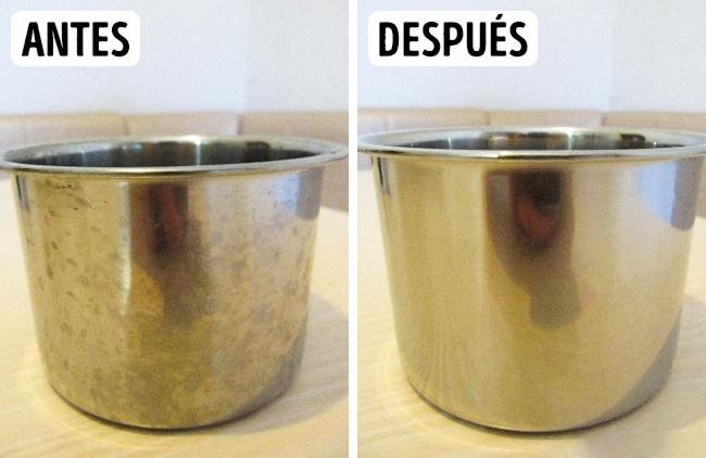 Limpieza de utencilios. Foto: Genial Gurú