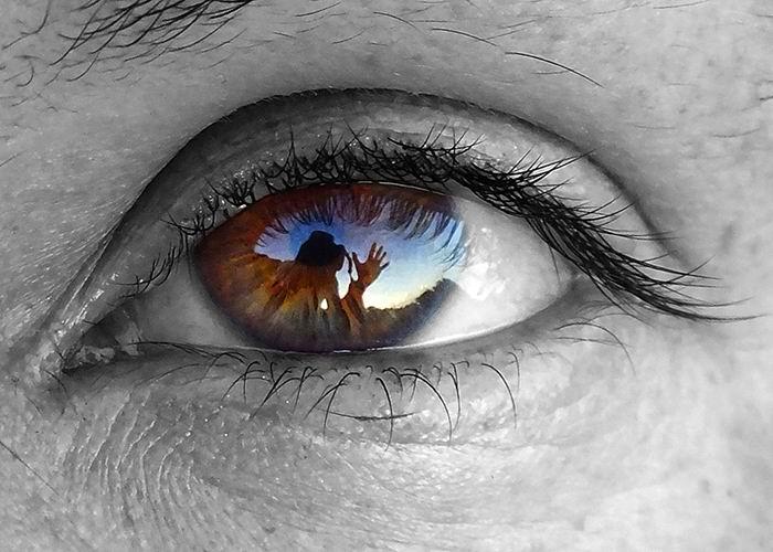 La mirada: reflejos del alma y la palabra. Foto: Abel Rojas Barallobre