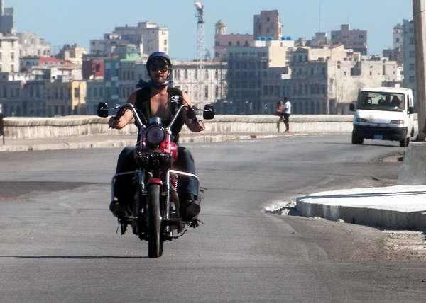 Las motos Harley Davidson comportan un estilo de vida. Foto Abel Rojas