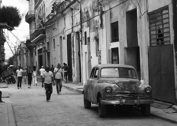 Las calles de la habana, los caminos que anduve. Foto Abel Rojas Barallobre