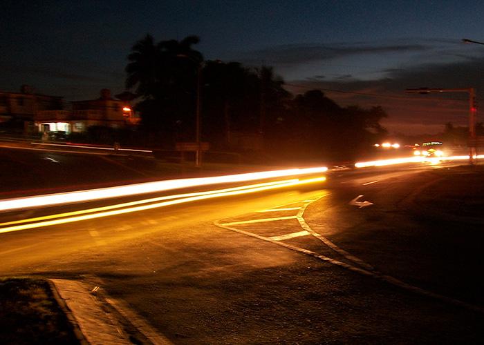 Para lograr este tipo de fotografías se debe utilizar un tiempo de exposición medianamente largo. Foto: Abel Rojas Barallobre